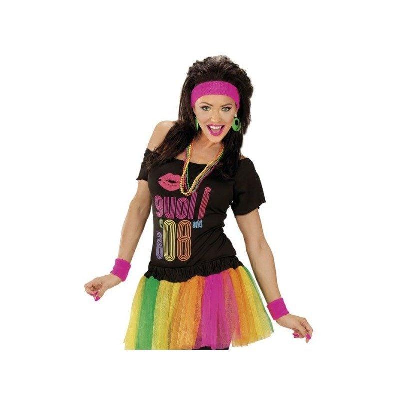 80er Kostüm Hippie