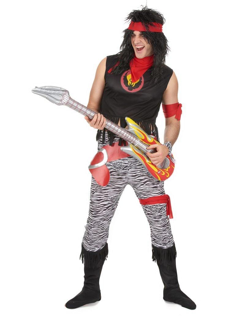 80er Kostüm Rock