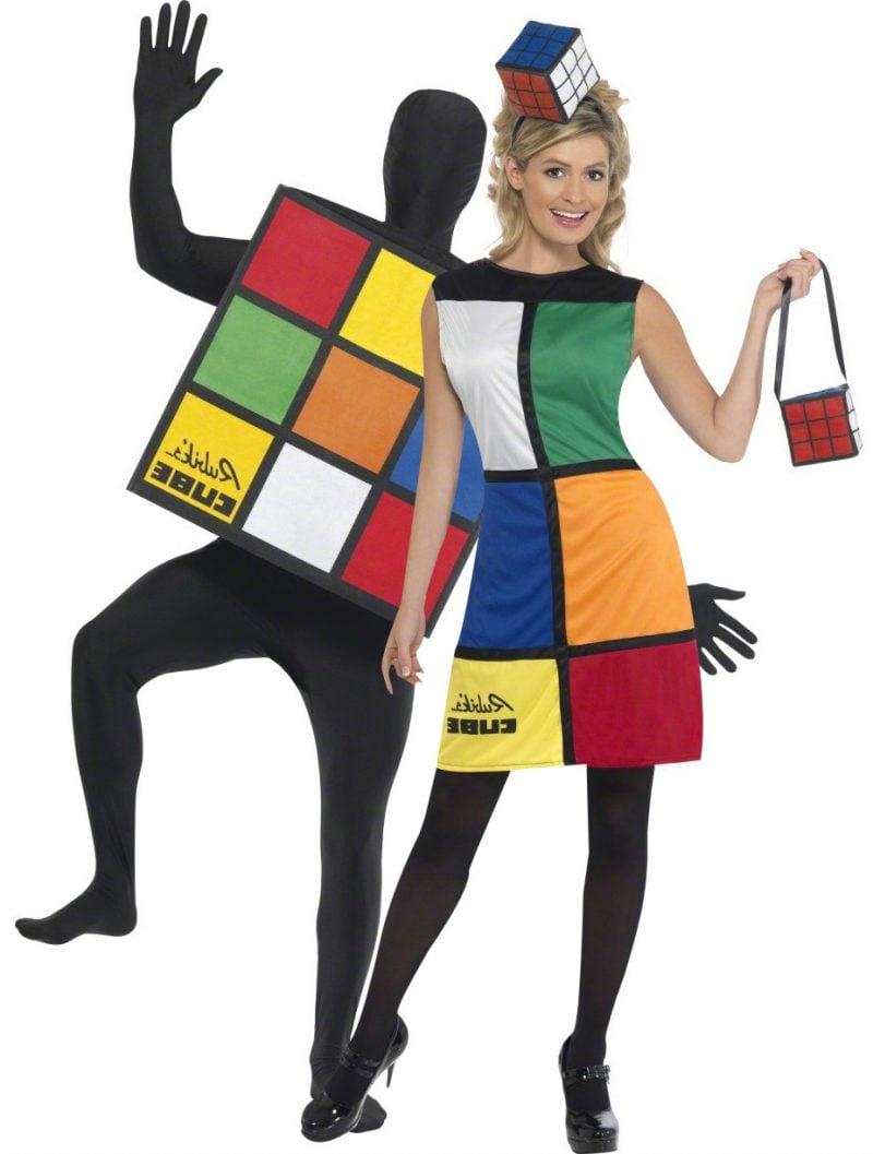 80er Kostüm Rubik