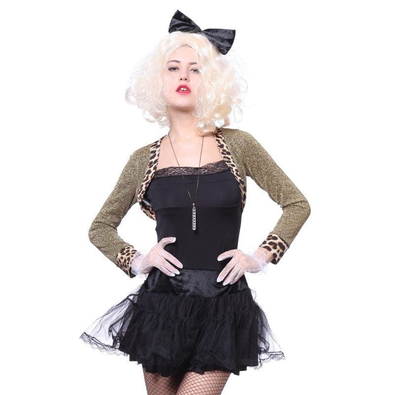 80er Kostüm Schwarz