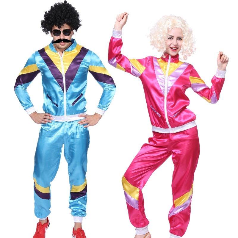 80er Kostüm Sport