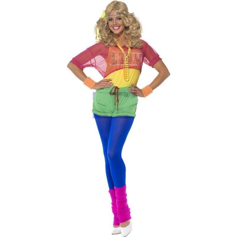 80er Kostüm Aerobic