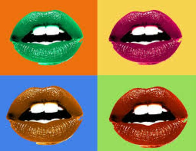 Andy-Warhol-Werke Lippenstift