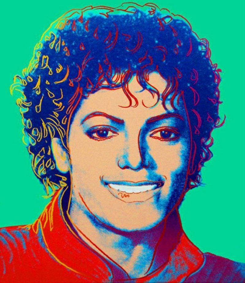 Andy Warhol Werke Michael Jackson Pop Ikone