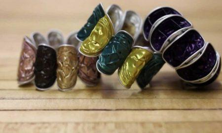Armbänder aus Kaffeekapseln