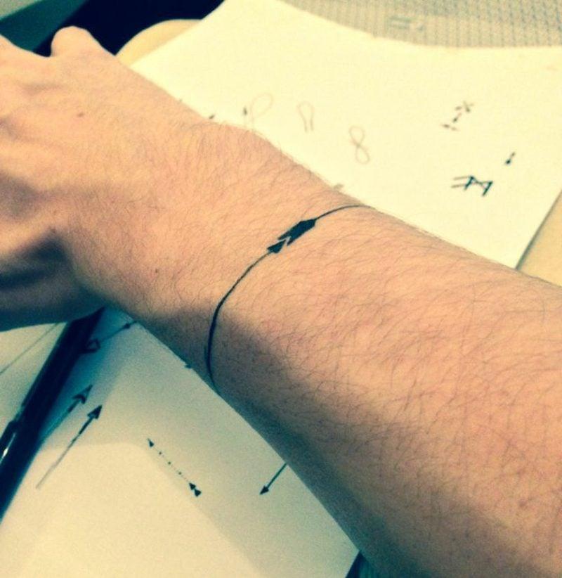 armband tattoo symbole und bedeutungen tattoos zenideen. Black Bedroom Furniture Sets. Home Design Ideas