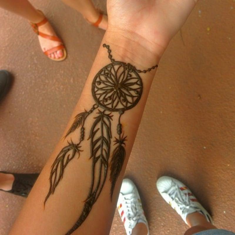 Armband-Tattoo-henna-tattoo-dreamcatcher