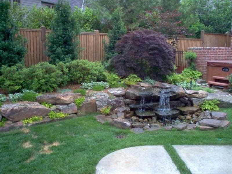 Garten Gestaltungsideen Bachlauf