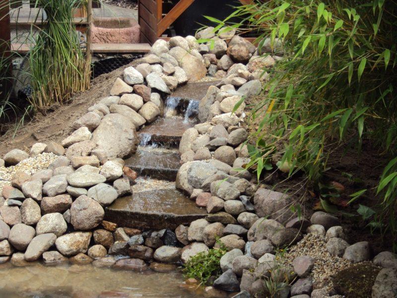 Bachlauf Im Garten Selber Bauen Wasserlauf Selbstde