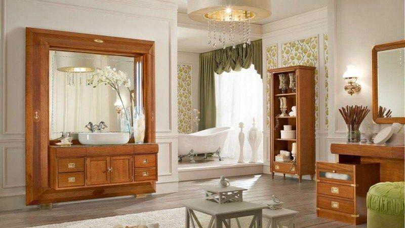 Badezimmer im maritimen Einrichtungsstil