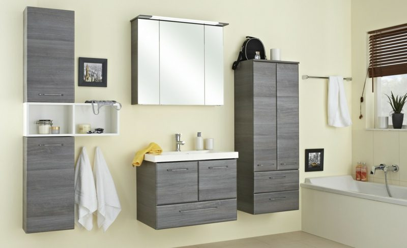Spiegelscrank mit Beleuchtung Badezimmer