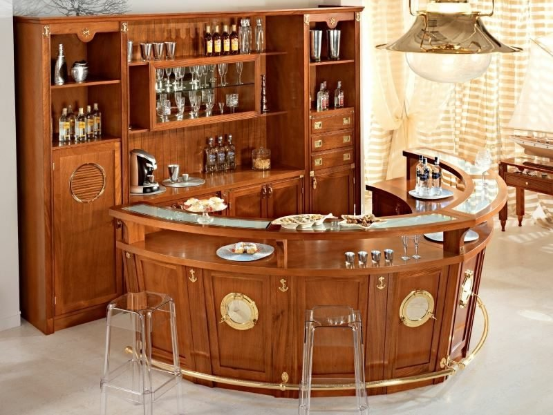 maritime Möbel Bar