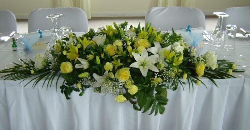 Blumengestecke Fur Den Tisch Blumengestecke Und Blumige