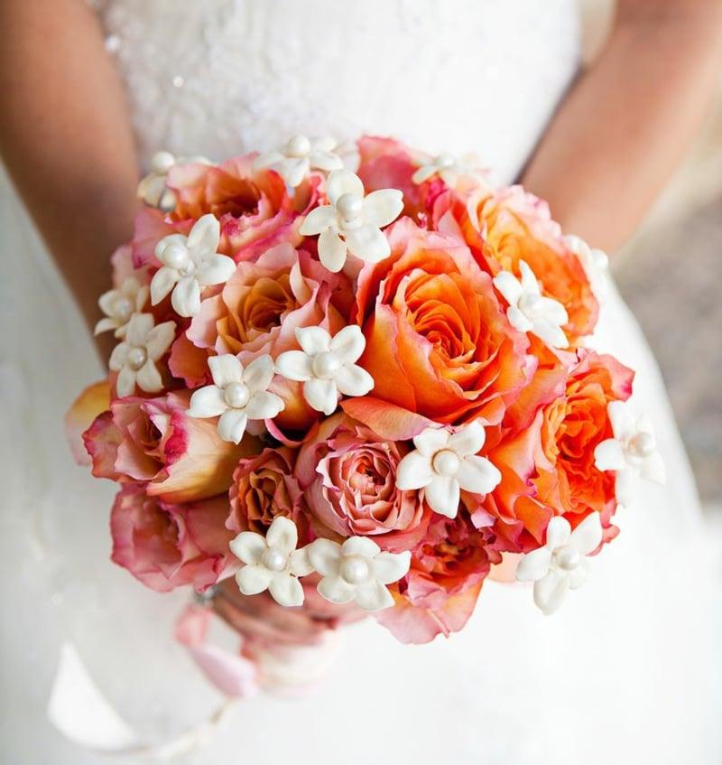 Hochzeitsstrauβ Orange