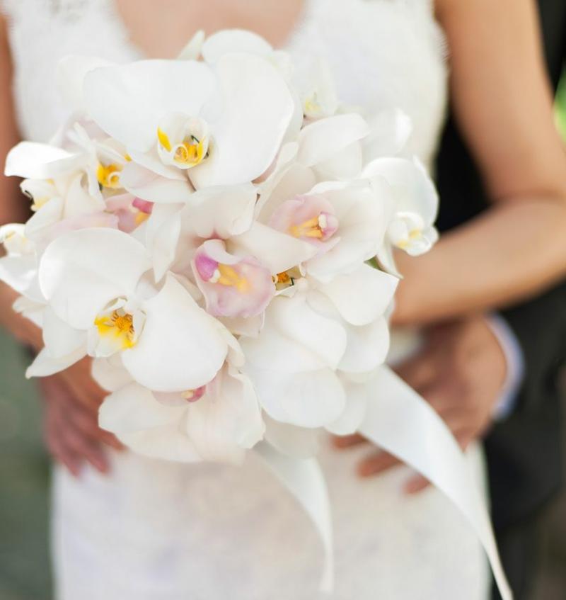 Hochzeitsstrauβ aus Orchideen