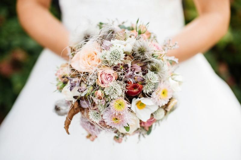Hochzeitsgestaltung die Brautstrauβ Kosten verringern