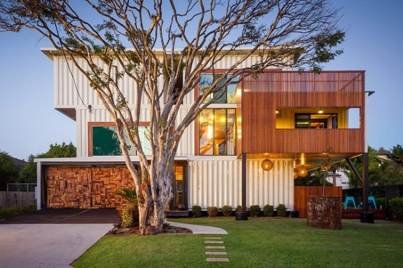 modernes Container Haus innovative Designideen