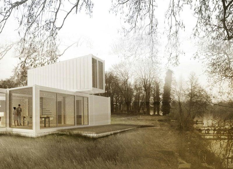 herrliche Container Wohnung im Weiss