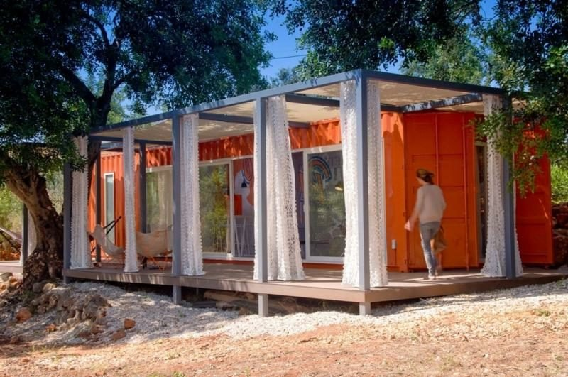 Container Haus als Ferienvilla