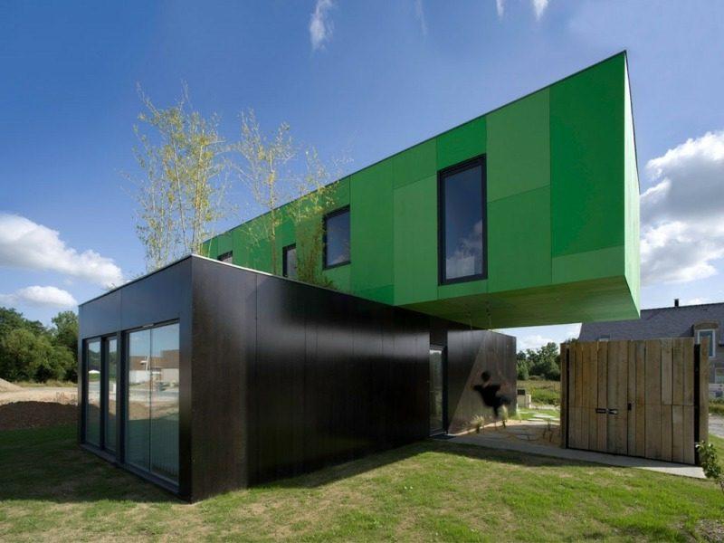originelles Container Haus