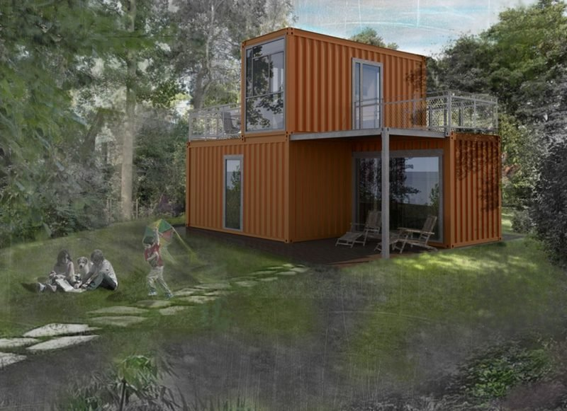 das Container Haus als Traumhaus