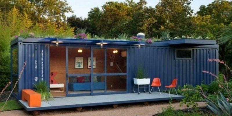kreative Wohnideen Container Haus