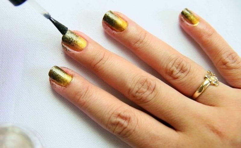 Fingernägel Design Ombre DIY Ideen