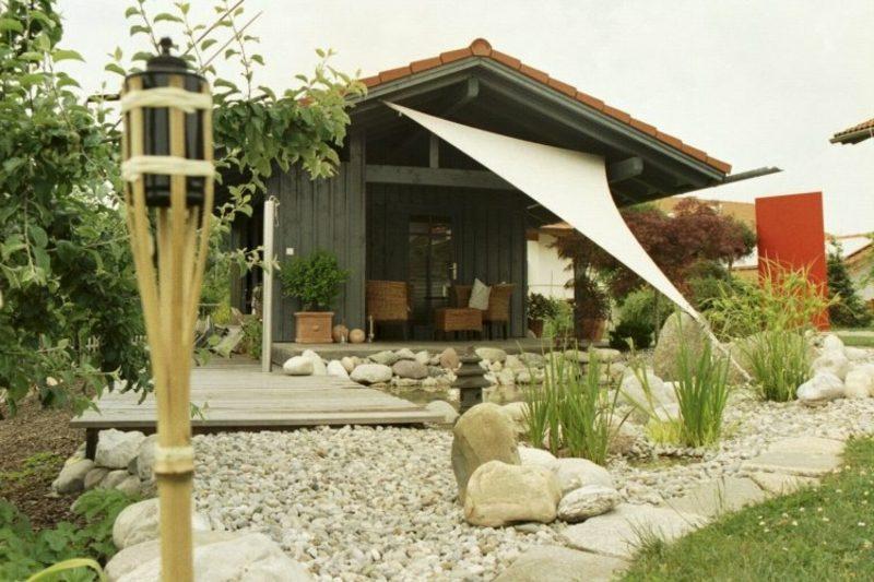 Gestaltungsideen Feng Shui Garten