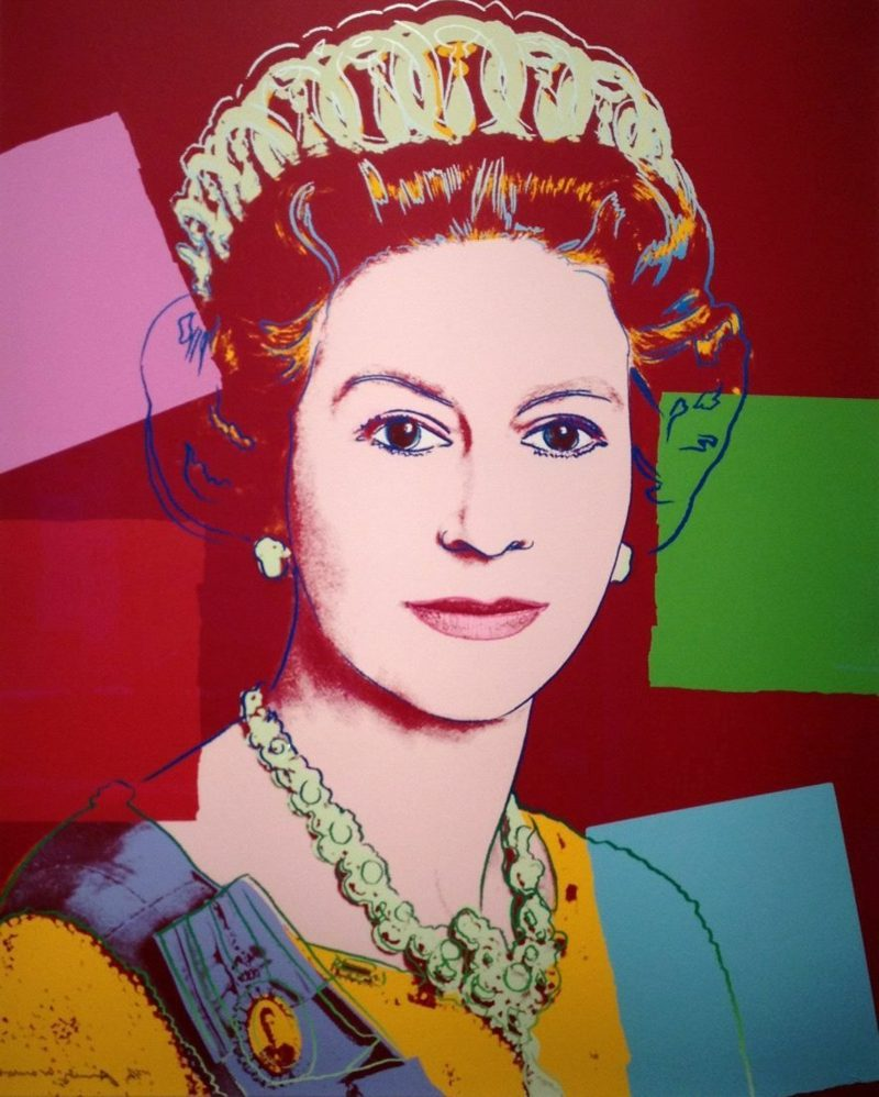 Galerie Kronsbein - Andy Warhol - Queen Elizabeth II of the United Kingdom-resized