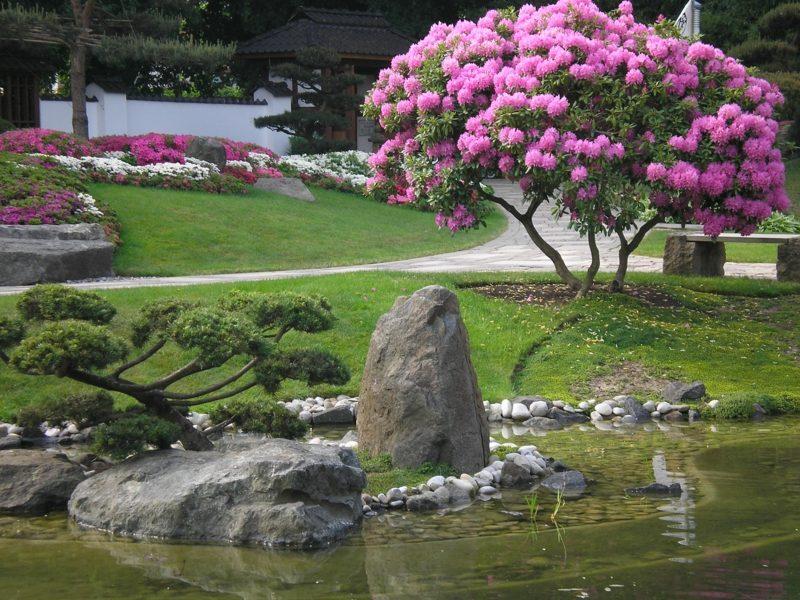 origineller Feng Shui Garten