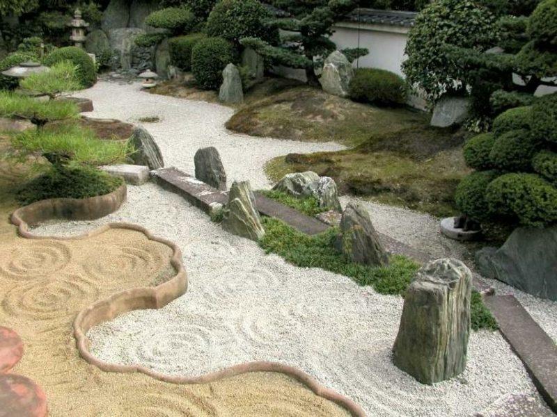 Gartenwege Gestaltung nach Feng Shui