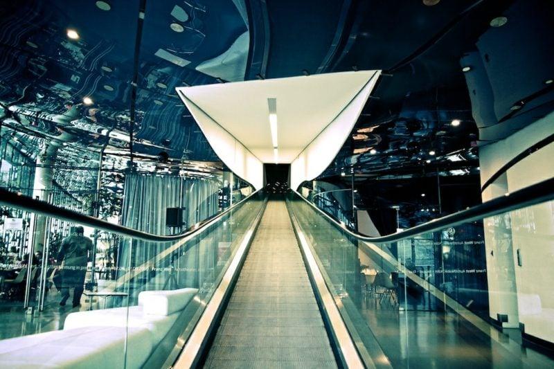 Innendesign Kunsthaus Graz