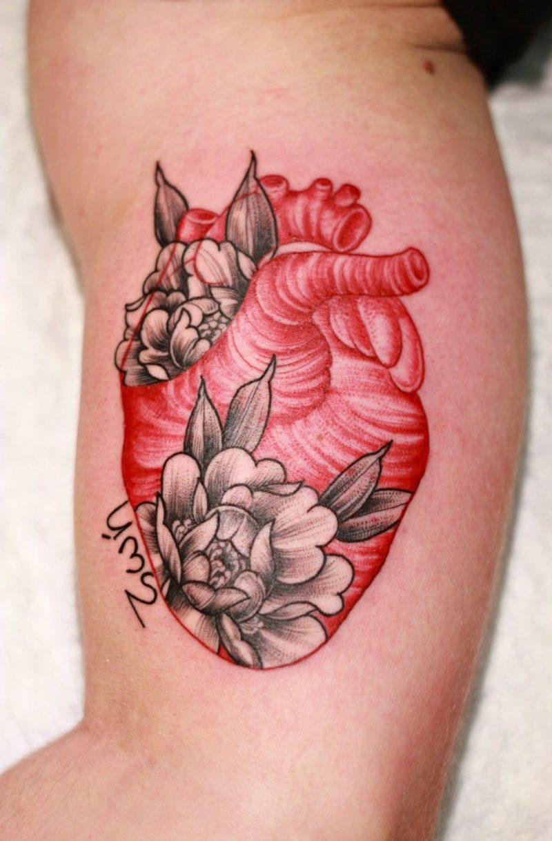 Herz Tattoo heart tattoo