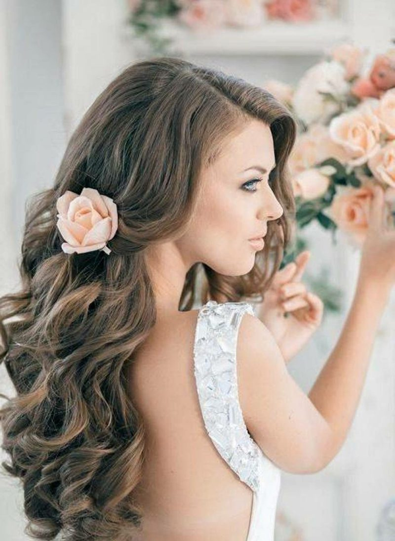 Hochzeitsfrisuren wedding hairstyles for long hair