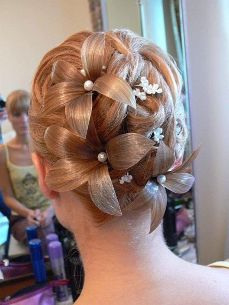 Hochzeitsfrisuren weddings hair
