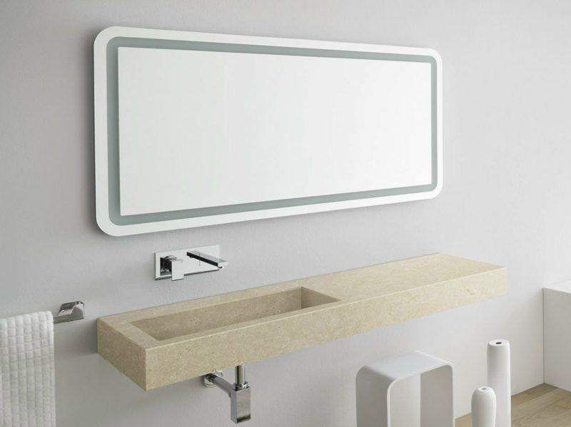 Spiegelbeleuchtung Bad