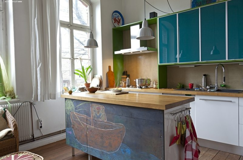 Kücheninsel ausgefallenes Design
