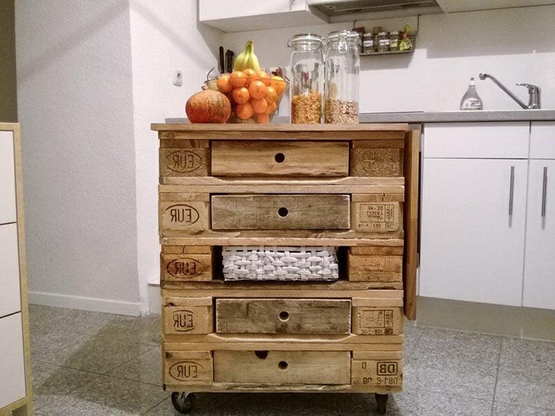 Kücheninsel selber bauen DIY Ideen