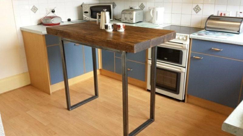 Kücheninsel industrieller Stil