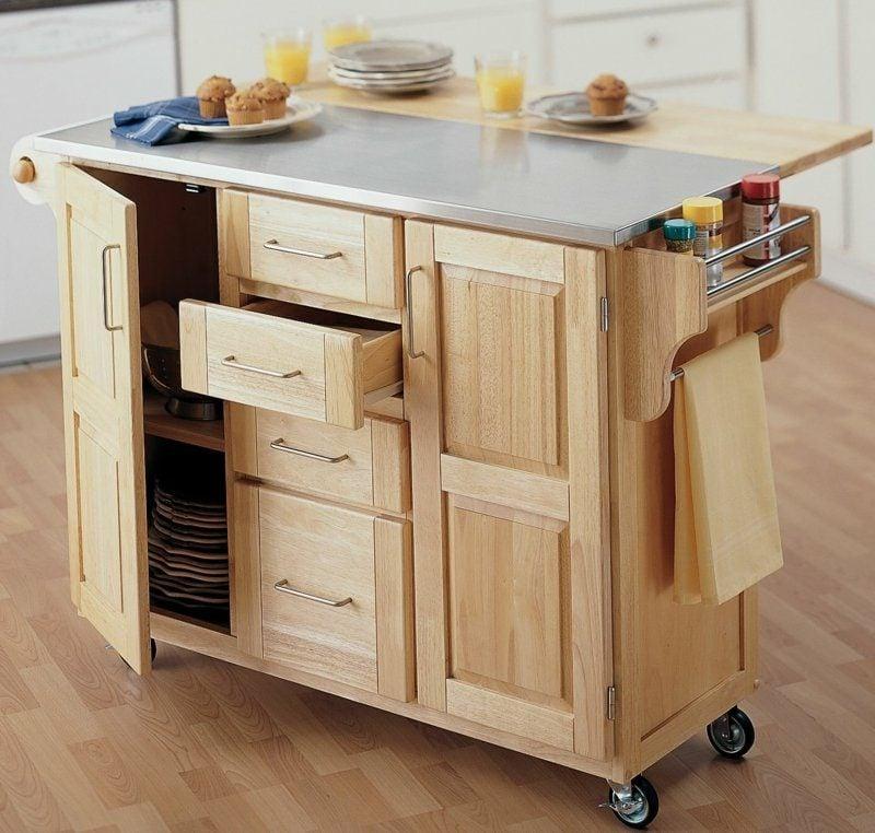 Kücheninsel praktisches Design