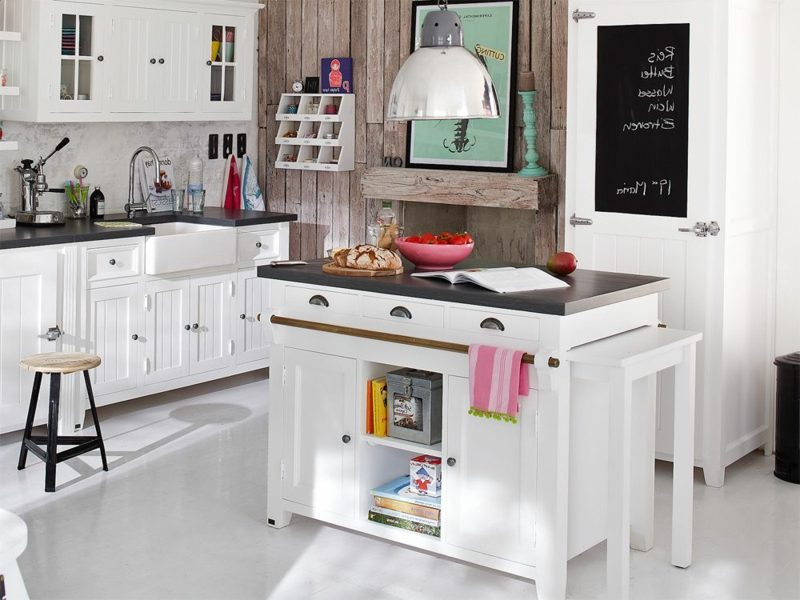 klassische Kücheninsel