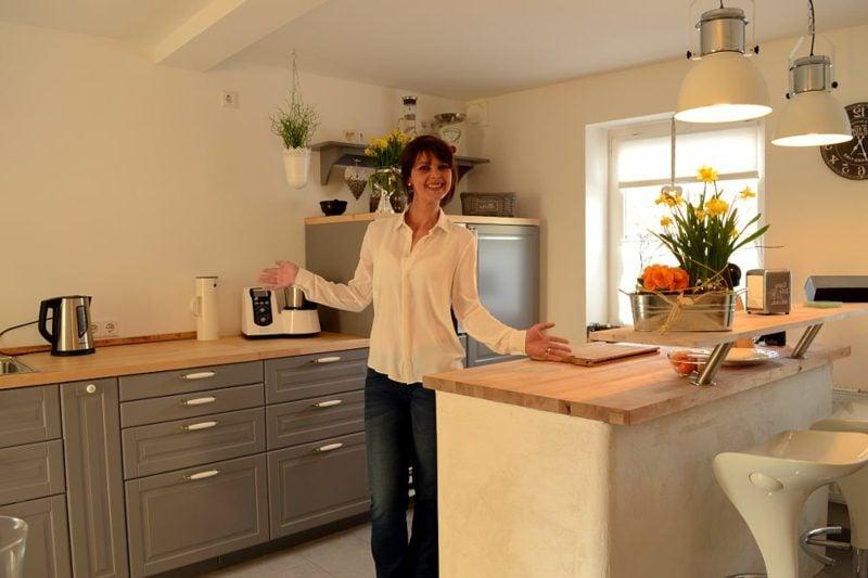 Kücheninsel kreative Ideen zum Selbermachen