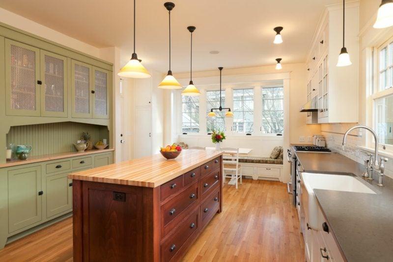 kreative DIY Ideen Kücheninsel selber bauen