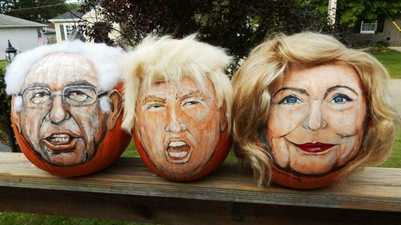 Kürbis bemalen candidate pumpkins
