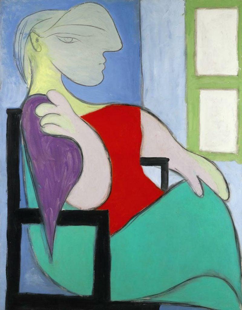 Kubismus Merkmale Frau am Fenster Picasso