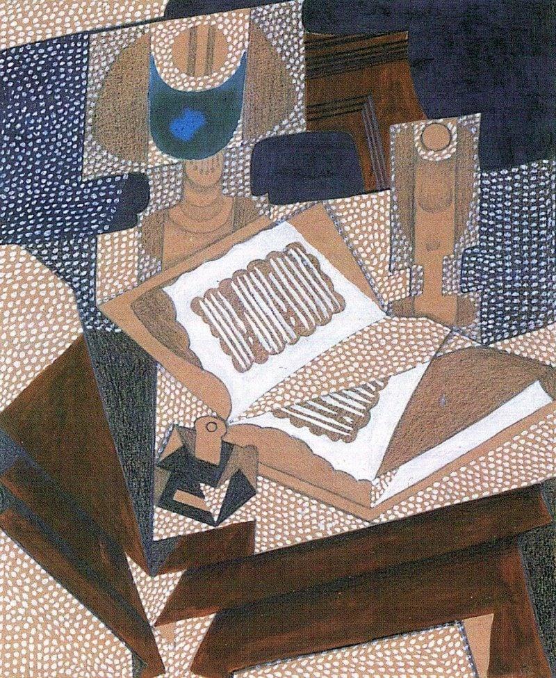 Kubismus Merkmale Gris Juan Das Buch