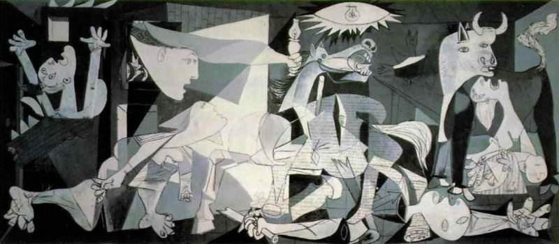 Kubismus Merkmale Guernica by Pablo Picasso