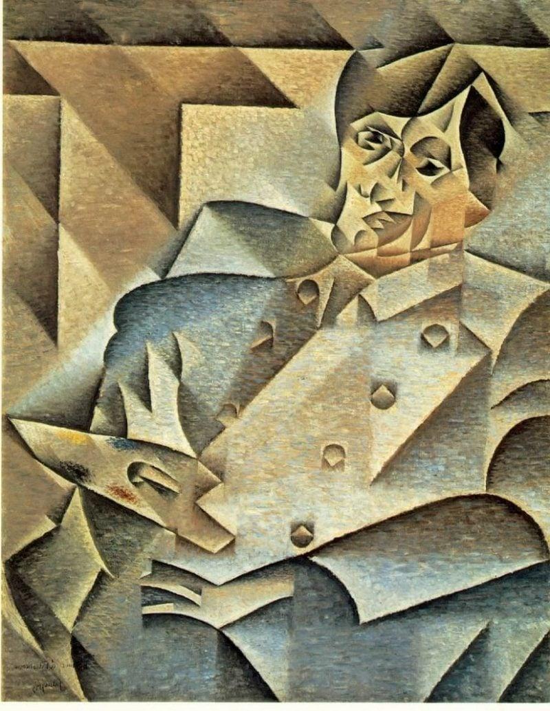 Kubismus Merkmale Juan Gris Portrait of Picasso