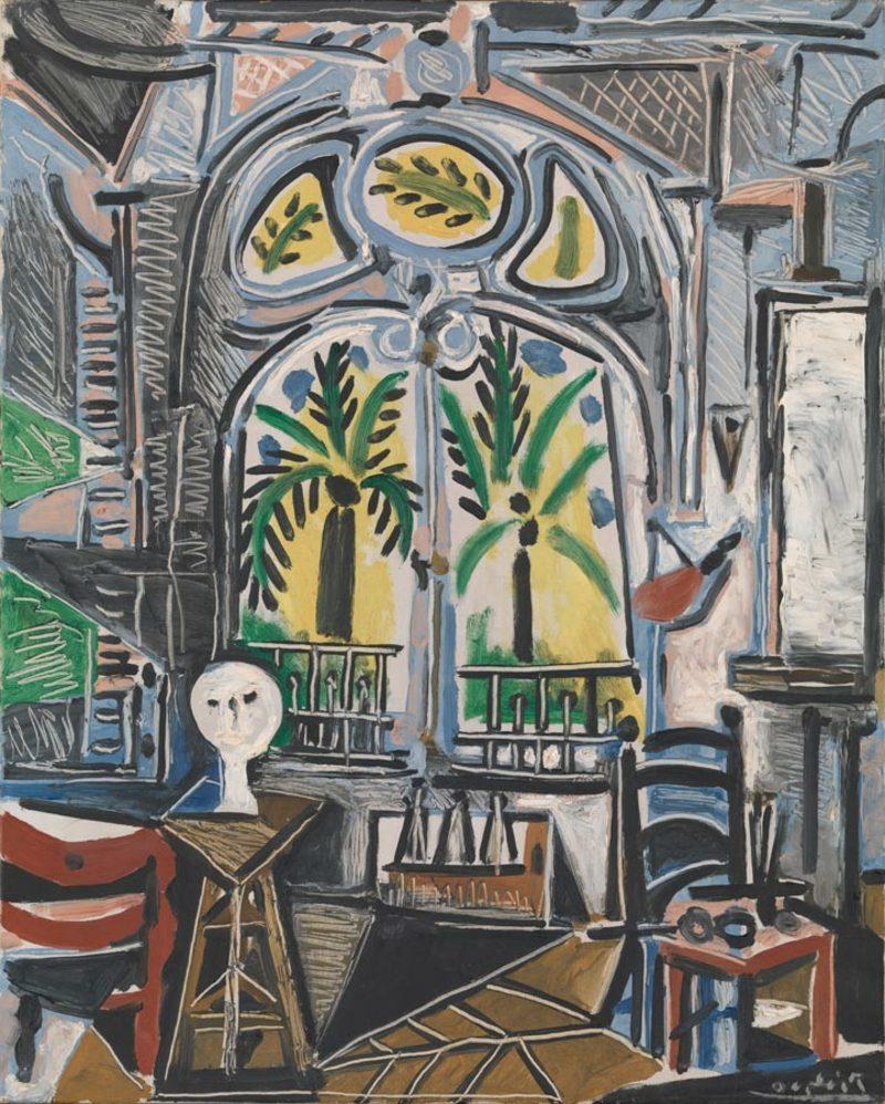 Kubismus Merkmale Pablo Picasso Das Atelier, 1955