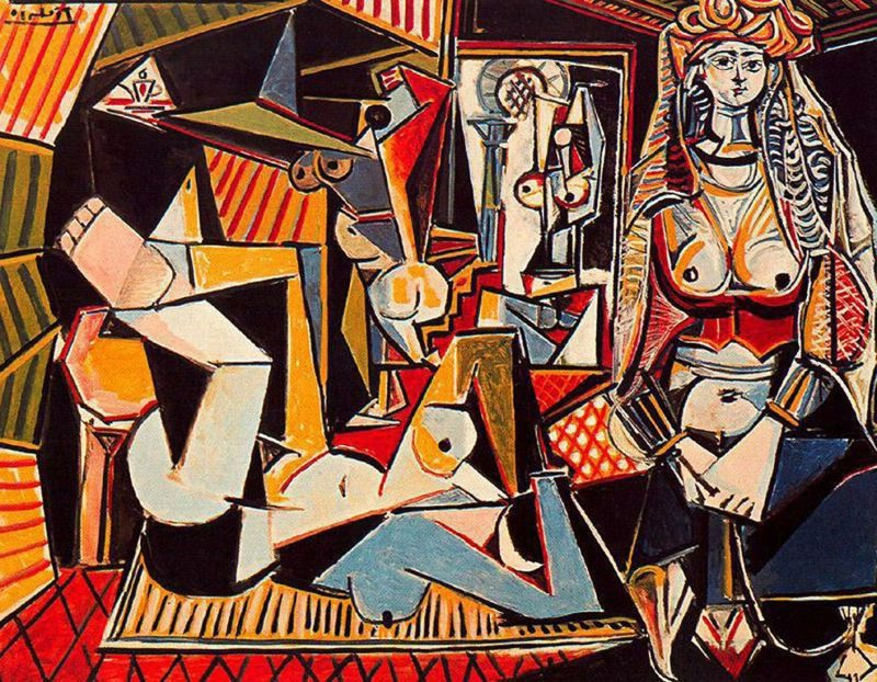 Kubismus Merkmale The Women of Algiers, 1955 by Pablo Picasso